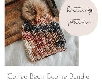 Coffee Bean Bundle / FOUR patterns