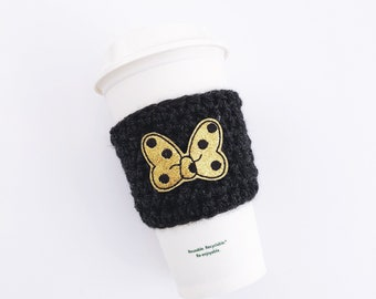 Gold Minnie Bow Cozy