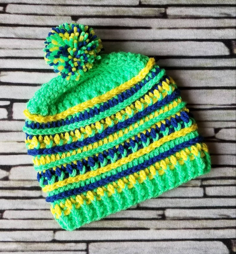 Brazil Winter Olympics beanie Country color hat  a513f68850e