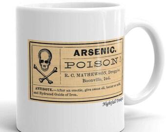 Antique Arsenic Label Mug