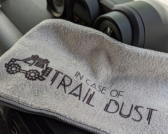 Personalized Microfiber Cloth, Gift for Him, Boyfriend Gift, Jeep Accessories, Jeep Wrangler, Jeep Gladiator, JT, JL, JK, Offroad Gift