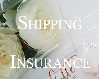 Shipping Insurance Only