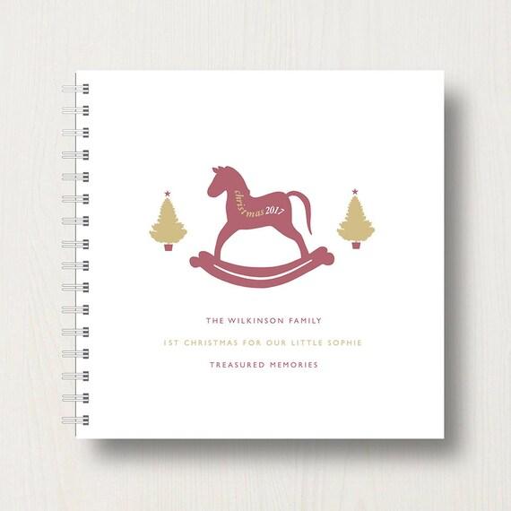 Personalised Family Christmas Memory Book or Album