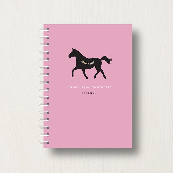 Personalised Horse Lover's Journal or Notebook