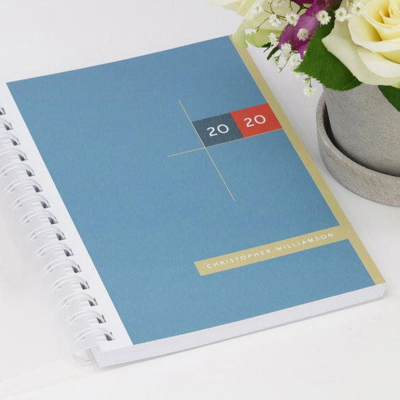 Personalised 2020 Diary For Students