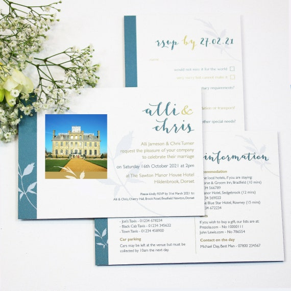 Venue Photo Wedding Stationery Collection