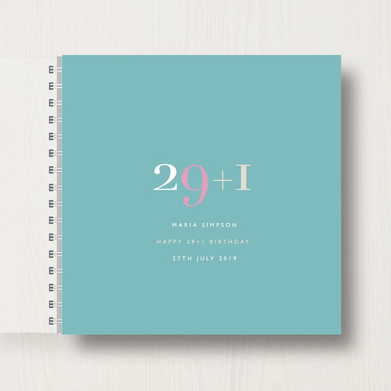 Personalised 30th Birthday Memory Book/Album