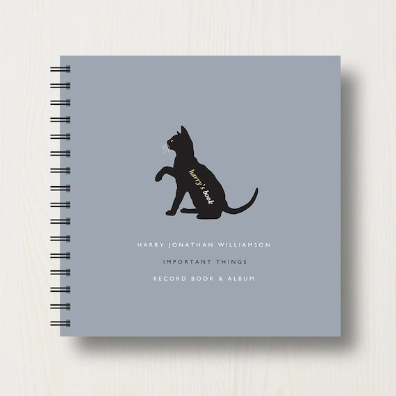 Personalised Cat Lover's Book or Album