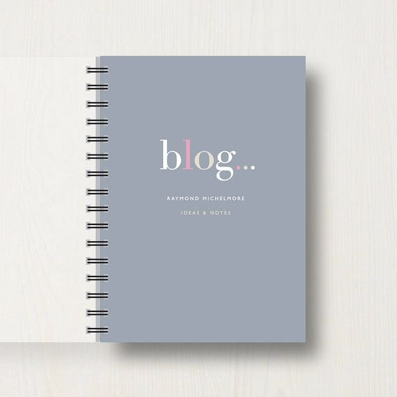 Personalised 'Bloggers' Journal or Notebook