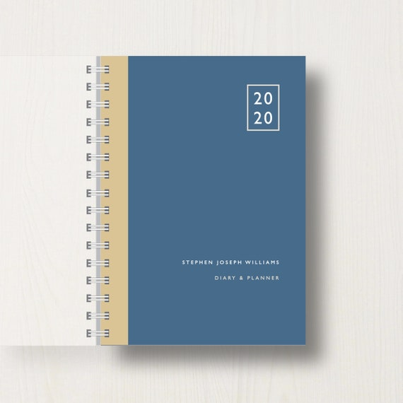 Personalised 2020 Diary And Planner