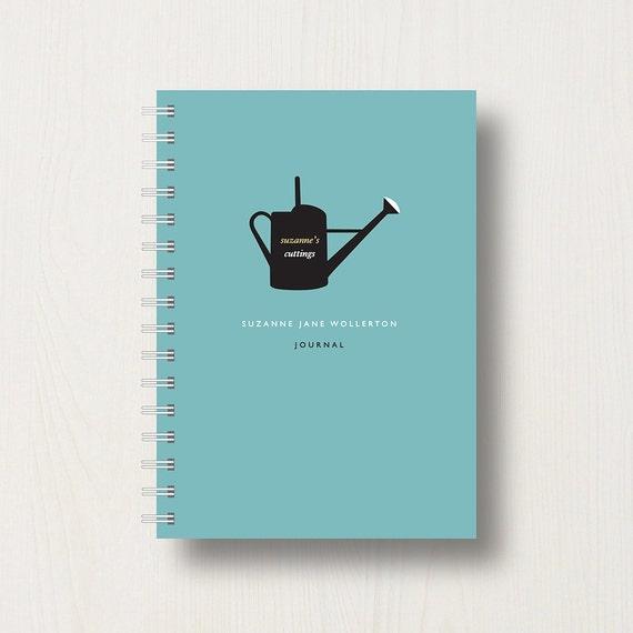 Personalised Garden Lovers Journal or Notebook