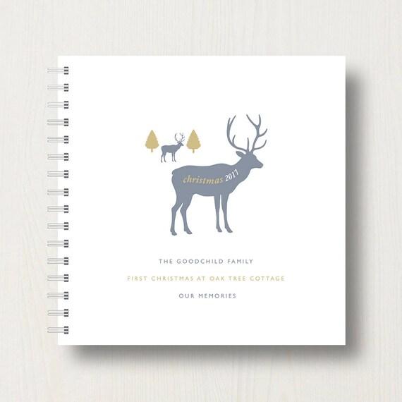 Personalised Christmas Memory Book or Album