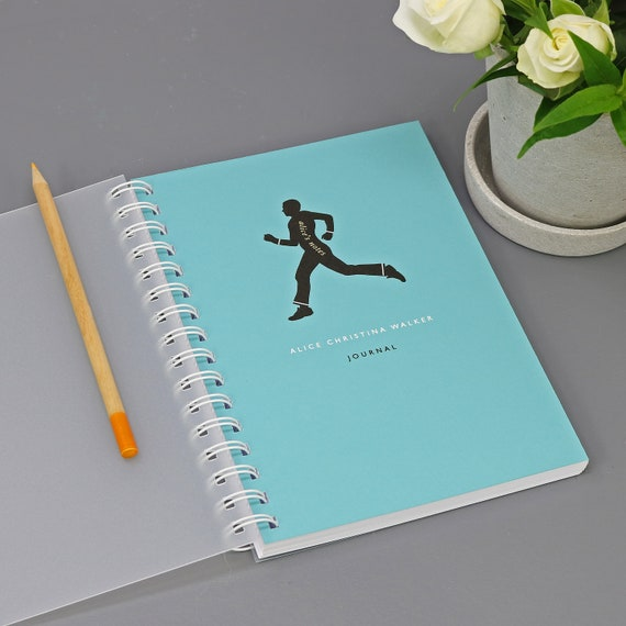Personalised Fitness Lover's Journal or Notebook