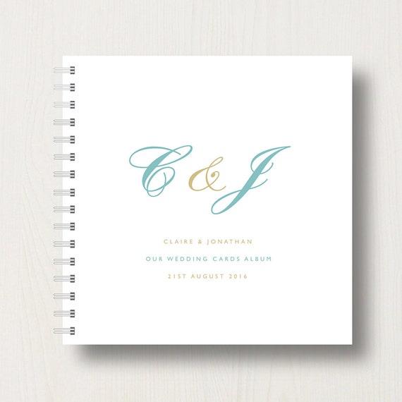 Personalised Wedding Cards Book or Album