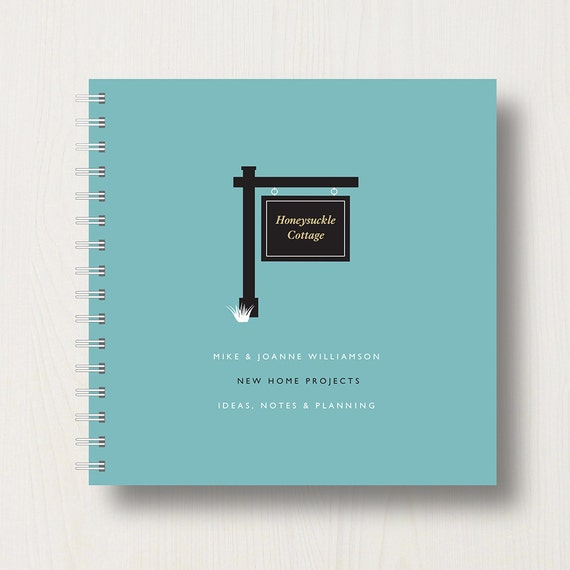Personalised New House Book or Album