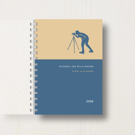 Personalised 2020 Diary For Photographers