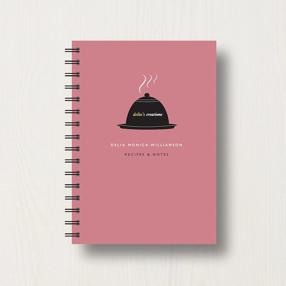 Personalised Cook's Recipe Journal or Notebook