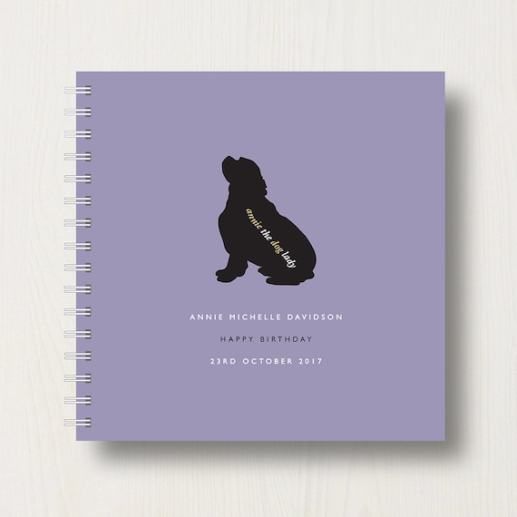 Personalised King Charles Spaniel Lover's Book or Album