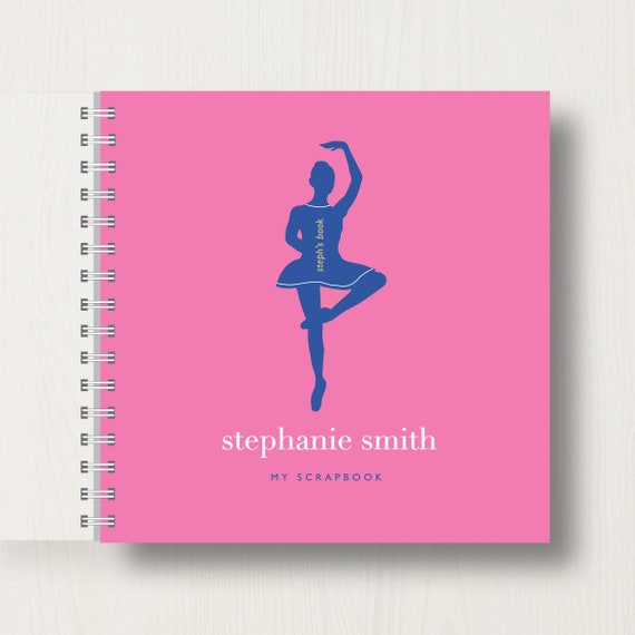 Personalised Kid's Ballet Scrapbook or Memory Book