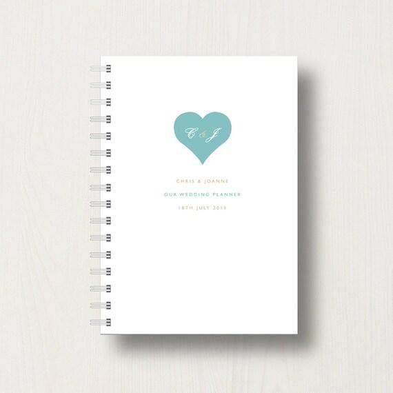 Personalised Wedding Planner, Journal or Notebook
