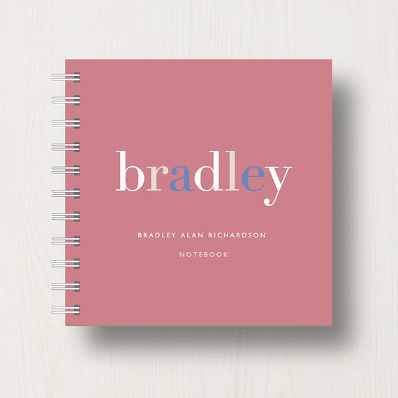 Personalised Name Small Notebook