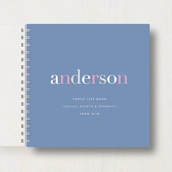 Personalised Life Memory Book or Album