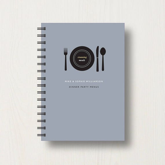 Personalised Cooking Lover's Journal or Notebook