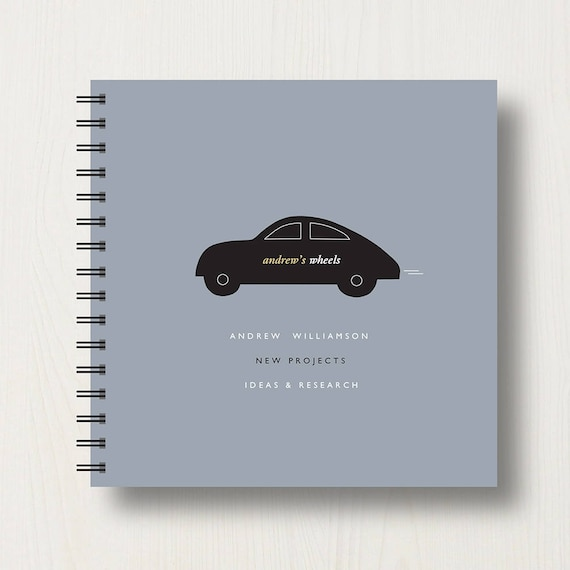 Personalised Car Lover's Book or Album