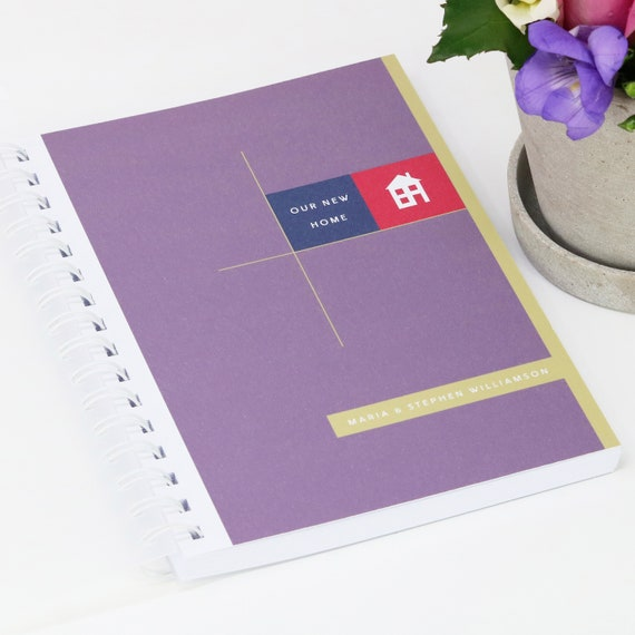 Personalised New Home Journal