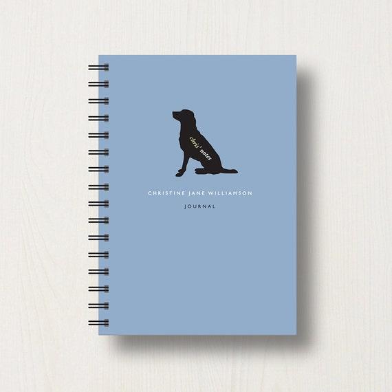 Personalised Labrador Retriever Lover's Journal