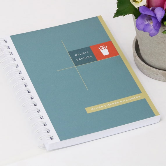 Personalised Designer's Journal