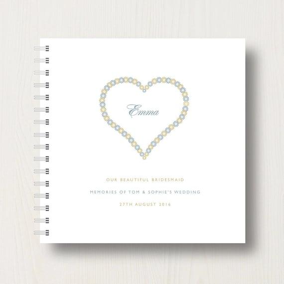 Personalised Bridesmaid's Book or Album