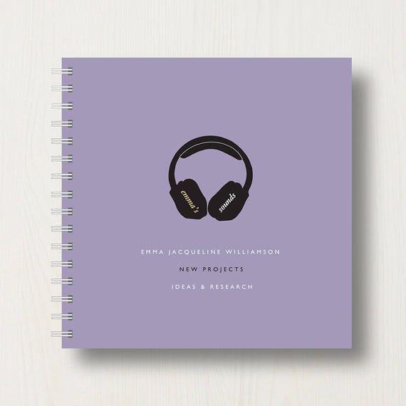 Personalised Music Lover's Book or Album