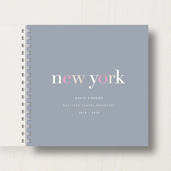Personalised Travel or Holiday Destination Memory Book
