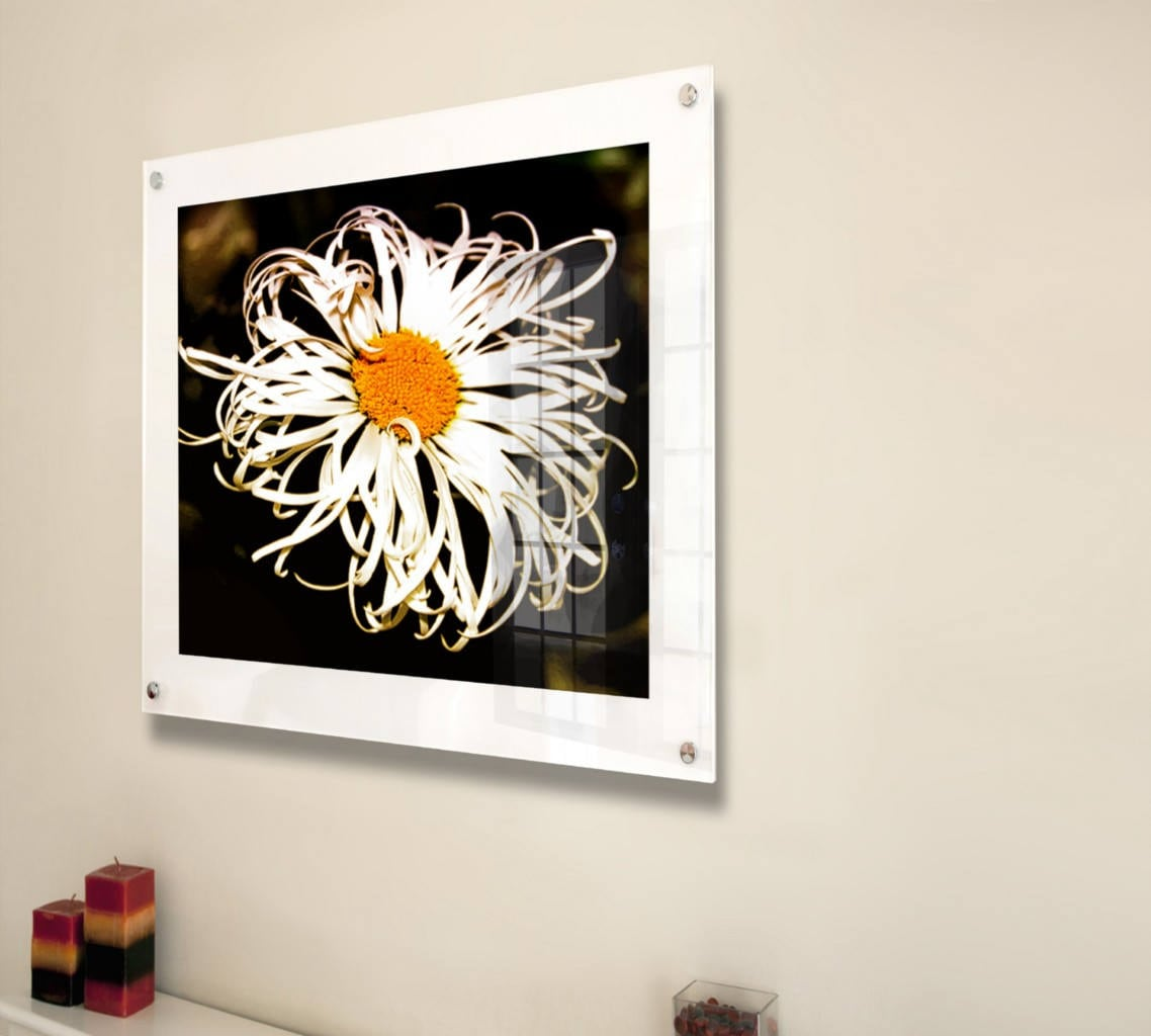 cheshire acrylic white 10mm picture wall frame for 8 x 10, 10 x 12 ...