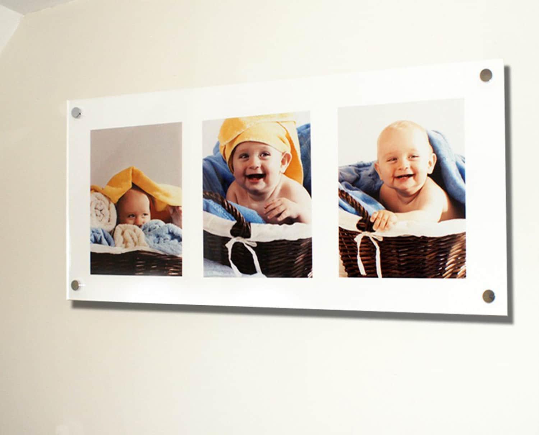 Multi Photo picture frame 3x 10 x 8 25 x 30 cm / 8 x 10 High gloss ...