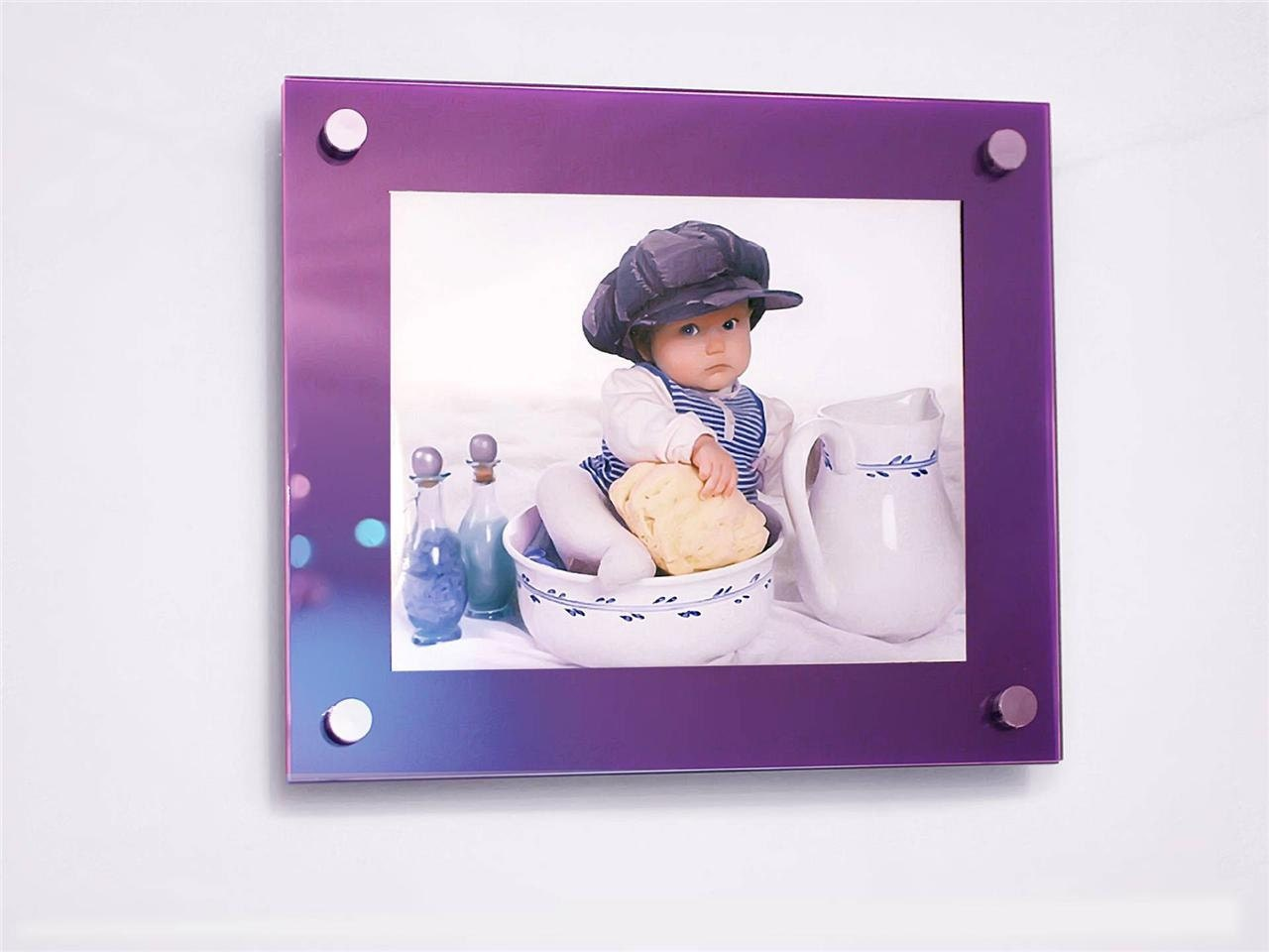cheshire acrylic purple 10mm picture wall frame for 8 x 10, 10 x 12 ...