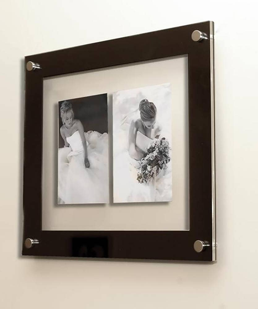 Floating 3d Picture Photo Frame Wall Mount Multi 7 X 5 17 X 12 Cm