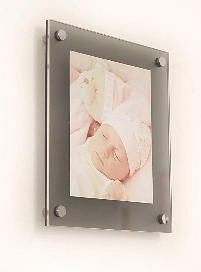 Grey Frost High Gloss Cheshire Acrylic 10mm 12 X 18 30 X 45 Cm 18