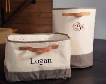 Merveilleux Monogrammed Storage Tub, Monogrammed Hamper, Storage Bin, Laundry Hamper,  Laundry Basket, Monogrammed Laundry Hamper