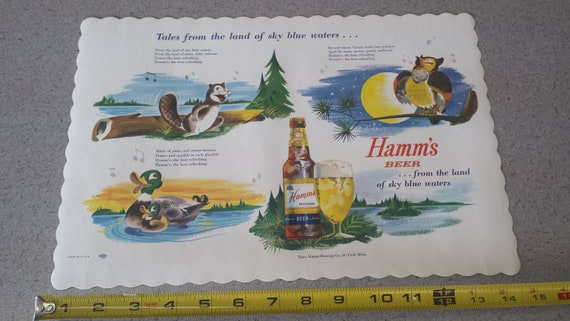 NOS Vintage//New Hamm's Beer Bottle Openers Set Of 2