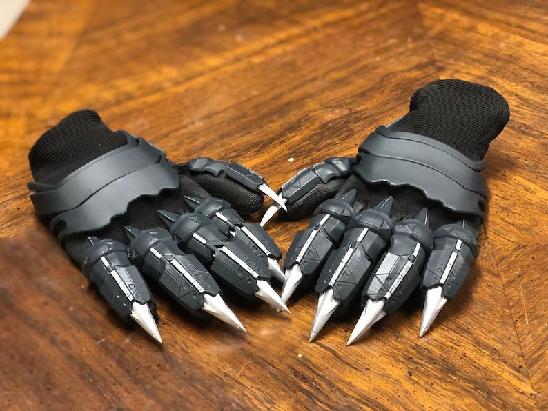 Marvel Black Panther Gloves 3D Printed