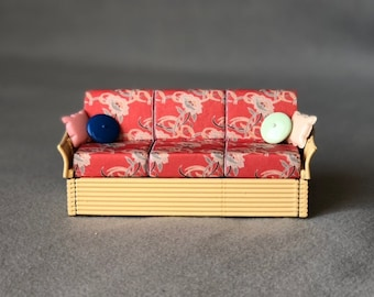Golden Girls Couch Replica 3D Printed Scale Model