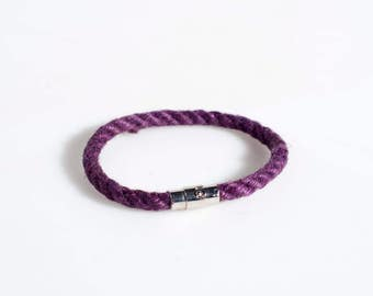 Bdsm Collar Bracelet shibari purple