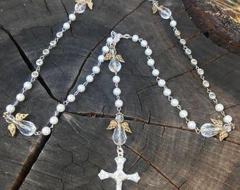 Memorial Rosary. Funeral Rosary. Burial Rosary. Funeral Catholic Rosary. Catholic Memorial Rosary. Personalized Rosary. Catholic Funeral.