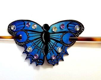 Butterfly Bun Pin