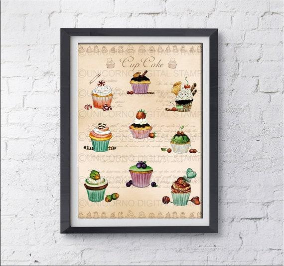 Stampe per cucina Quadri cucina Stampe con frutta Quadri | Etsy