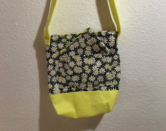 Daisy yellow Purse with coin purse