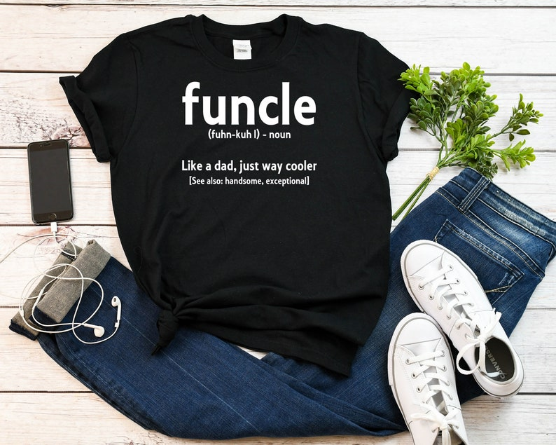 ed333401 Funcle tshirt funcle definition Funny Gift For Uncle Like A | Etsy