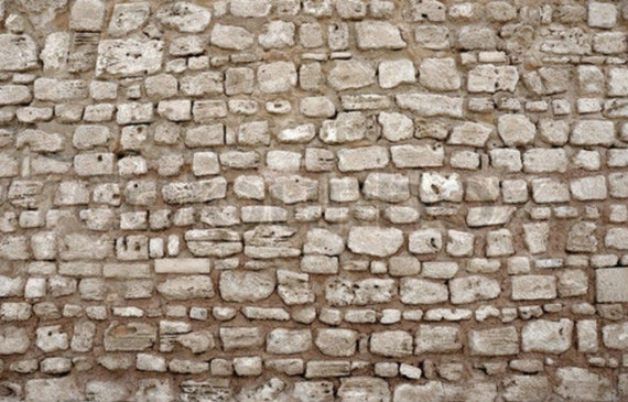 5 SHEETS LANDSCAPE embossed paper bumpy stone BRICK wall 21cm x29cm each sheet scale 112  free shipping